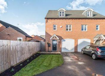 Thumbnail 3 bedroom semi-detached house for sale in Waterfield Avenue, Warsop, Mansfield, Nottinghamshire