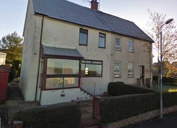 Thumbnail 3 bed semi-detached house for sale in Back Rogerton Crescent, Cumnock, Auchinleck