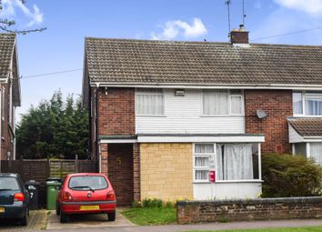 Thumbnail 3 bed semi-detached house for sale in Ledbury Road, Netherton, Peterborough