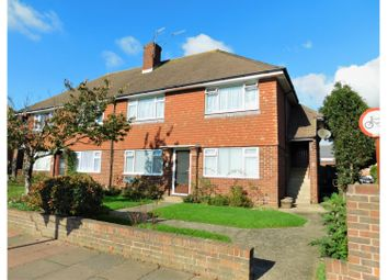 Thumbnail 2 bed flat for sale in Manor View Court, Worthing