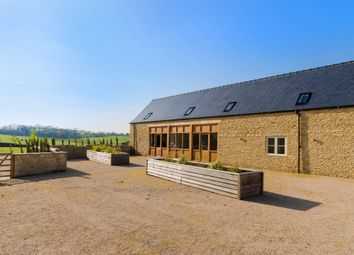Thumbnail 4 bed barn conversion for sale in Great North Road, Wittering, Peterborough