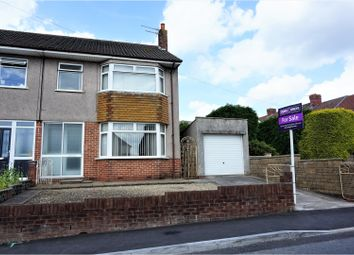 Thumbnail 3 bed semi-detached house for sale in Woodstock Road, Kingswood