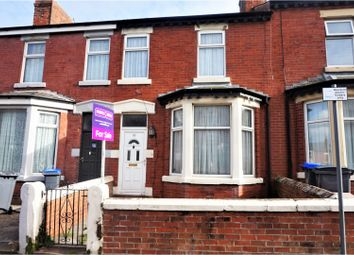3 bed terraced house for sale in George Street, Blackpool FY1