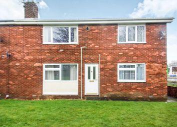 Thumbnail 2 bed flat to rent in Kent Close, Ashington