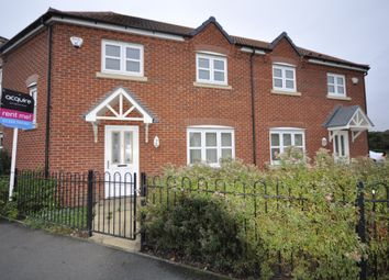 Thumbnail 3 bed semi-detached house to rent in Parkway, Chellaston, Derby