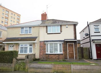 Thumbnail 2 bed semi-detached house to rent in Coronation Road, Bilston