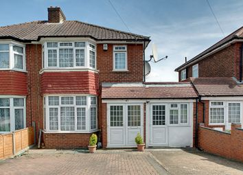 Thumbnail 4 bed semi-detached house for sale in Whitton Avenue East, Greenford