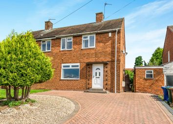 Thumbnail 2 bedroom semi-detached house for sale in Tame Grove, Cannock