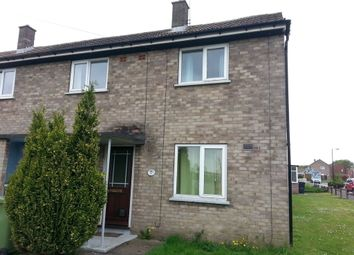 Thumbnail 2 bed end terrace house to rent in Capper Avenue, Hemswell Cliff, Gainsborough