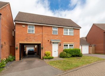 Thumbnail 4 bed detached house for sale in Restharrow Mead, Bicester