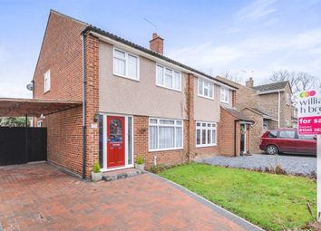 Thumbnail 3 bedroom semi-detached house for sale in Braziers Close, Galleywood, Chelmsford