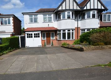 Thumbnail 4 bed semi-detached house for sale in Pereira Road, Harborne, Birmingham