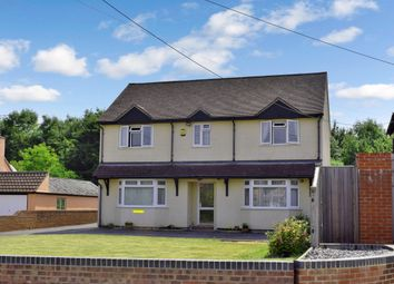 Thumbnail 4 bed detached house for sale in Long Lane, Hermitage, Thatcham