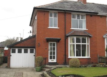 Thumbnail 3 bed semi-detached house to rent in Norwich Avenue, Bamford, Rochdale