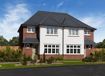 Thumbnail 3 bed semi-detached house for sale in Scholars' Walk, Off Baggallay Street, Hereford, Herefordshire