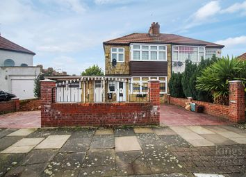 Thumbnail 3 bedroom semi-detached house for sale in Longfield Avenue, Enfield