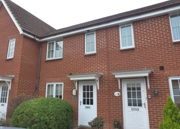 Thumbnail 2 bedroom terraced house for sale in Kingfisher Road, Attleborough