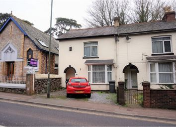 Thumbnail 2 bedroom end terrace house for sale in Hele Road, Torquay