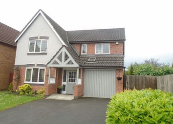 Thumbnail 4 bed detached house for sale in Downes Way, Manchester
