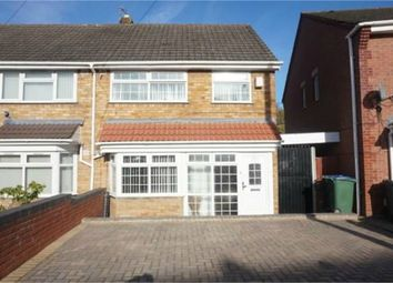 Thumbnail 3 bedroom semi-detached house for sale in St Pauls Road, Smethwick, West Midlands