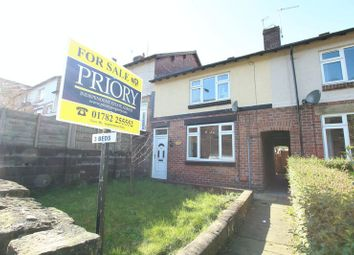 Thumbnail 3 bed terraced house for sale in Station Road, Biddulph, Stoke-On-Trent