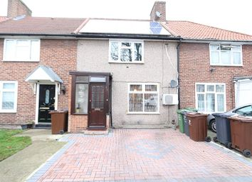 Thumbnail 3 bed terraced house for sale in Becontree Avenue, Romford, Essex