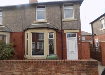 Thumbnail 3 bed semi-detached house to rent in Westfield Crescent, Newbiggin By The Sea