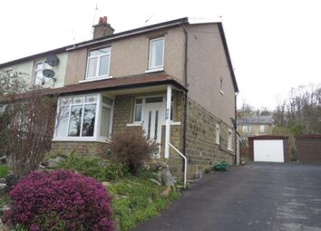 Thumbnail 3 bedroom semi-detached house to rent in Bradford Road, Riddlesden, Keighley