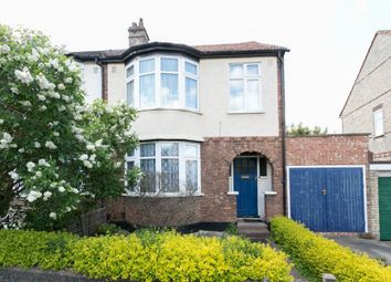 Thumbnail 3 bed end terrace house for sale in Nightingale Avenue, London