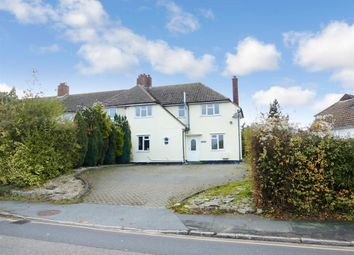 Thumbnail 3 bed semi-detached house for sale in Newtown, Kelvedon, Colchester
