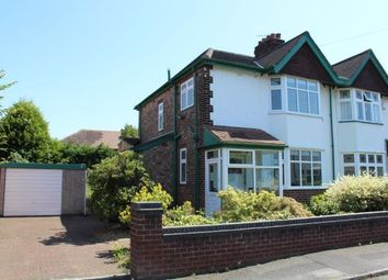 Thumbnail 3 bed semi-detached house for sale in Oakdale Avenue, Stockton Heath, Warrington, Cheshire