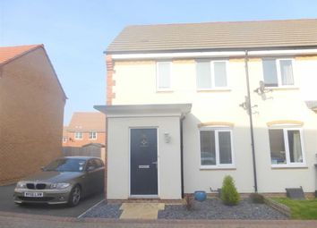 Thumbnail 2 bed end terrace house to rent in Eddleston Road, Swindon