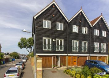 Thumbnail 4 bed end terrace house for sale in Belvedere Close, Faversham