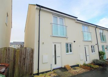 Thumbnail 2 bed end terrace house for sale in Rifleman Walk, Plymouth