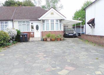 Thumbnail 4 bedroom semi-detached bungalow for sale in Curzon Avenue, Enfield
