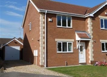 Thumbnail 2 bedroom property to rent in Hurn Close, Ruskington, Sleaford