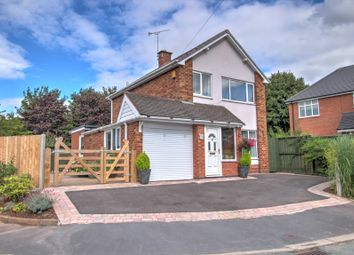 Thumbnail 3 bed detached house for sale in Micklehome Drive, Alrewas, Burton-On-Trent