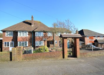 Thumbnail 4 bed semi-detached house for sale in Dover Road, Folkestone, Kent