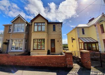 Thumbnail 3 bed semi-detached house for sale in Iscoed Road, Hendy, Swansea