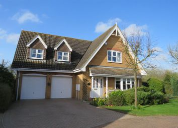 Thumbnail 4 bed detached house for sale in Fishermans Close, Upwood, Ramsey, Huntingdon