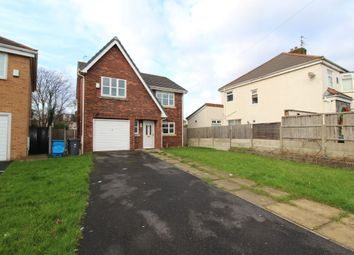 Thumbnail 4 bed detached house for sale in Edenfield Crescent, Huyton, Liverpool