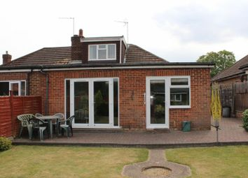 Thumbnail 3 bed semi-detached bungalow to rent in Ripley Avenue, Egham