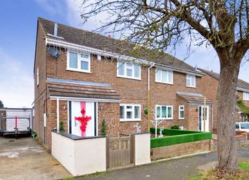 Thumbnail 2 bedroom semi-detached house for sale in Sherbourne Close, West Kingsdown, Sevenoaks, Kent