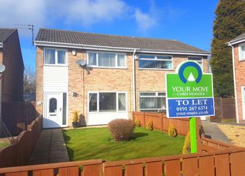Thumbnail 3 bed semi-detached house to rent in Renfrew Green, Newcastle Upon Tyne