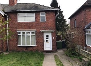 Thumbnail 3 bedroom semi-detached house to rent in Willows Road, Walsall, West Midlands