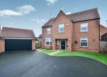 Thumbnail 4 bed detached house for sale in Rosefinch Way, Forest Town, Mansfield, Nottinghamshire