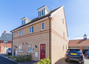 Thumbnail 3 bedroom semi-detached house to rent in Betony Gardens, Stotfold, Hitchin