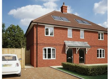 Thumbnail 3 bedroom terraced house for sale in Plot 34, Archer's Green, Wheat Close, Bentley, Farnham, Surrey