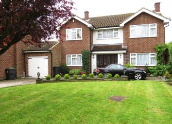 Thumbnail 4 bed detached house for sale in Lodge Close, Chigwell