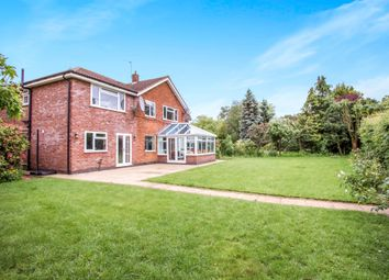 Thumbnail 5 bed detached house for sale in Hall Drive, Oadby, Leicester